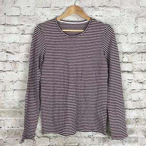 Everlane striped long sleeve t shirt